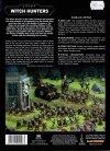W40k Codex Witch Hunters tył okładki