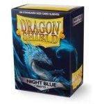 Koszulki Dragon Shield Standard Sleeves - Night Blue matte (100 Sleeves)