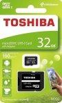 Karta pamięci MicroSDXC TOSHIBA M203 (SDU32GSDHCU1M203EATR) 32GB UHS-I Class 10 + adapter