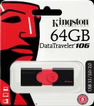 Kingston 64GB USB 3.0 DataTraveler 106 (100MB/s read)