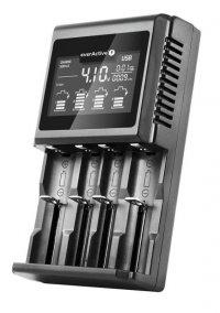 Ładowarka akumulatorków cylindrycznych Ni-MH Li-ion EverActive UC-4000