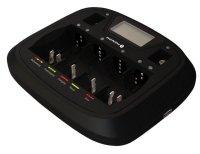 Ładowarka akumulatorków Ni-MH EverActive NC900U