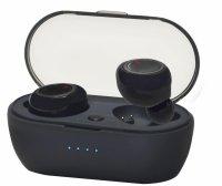 Słuchawki z mikrofonem VAKOSS SK-848BK Bluetooth, douszne, ze stacją dokującą, czarne