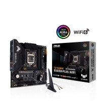 Płyta Asus TUF GAMING B560M-PLUS WIFI /B560/DDR4/SATA3/M.2<br />/USB3.2/PCIe4.0/WIFI<br />/BT/s.1200/mATX