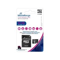 Karta pamięci MicroSDHC MediaRange MR959 32GB Class 10 + adapter SD