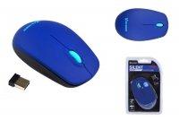 Mysz bezprzewodowa VAKOSS TM-741UB SILENT optyczna 3 przyciski, 1000dpi niebieska