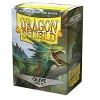 Dragon Shield Standard Matte Sleeves - Olive (100 Sleeves)