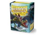 Koszulki Dragon Shield Standard Sleeves - Matte Green (100 Sleeves)