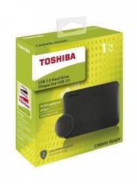 Dysk zewnętrzny Toshiba Canvio Ready 1TB, USB 3.0, black