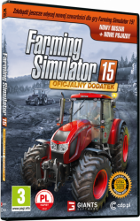FARMING SIMULATOR 15: OFICJALNY DODATEK PL PC