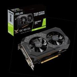 Karta VGA Asus TUF Gaming GeForce® GTX 1650 OC 4GB GDDR6 128bit DVI+HDMI+DP PCIe3.0