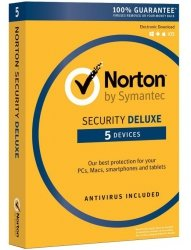 Norton Security Deluxe BOX PL 5 - desktop - licencja na rok
