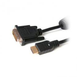 Digitalbox BASIC.LNK kabel DVI-HDMI 1.8m (2*ferryt, potrójny ekran)