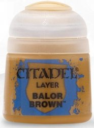 Farba Citadel Layer - Balor Brown 12ml