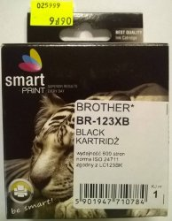 BROTHER LC123 BLACK      smart PRINT