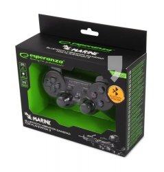 Gamepad bezprzewodowy Bluetooth PS3 Esperanza Marine czarny