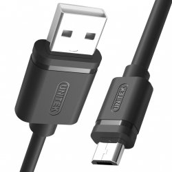 UNITEK Y-C434GBK Unitek kabel USB 2.0-micro USB M/M, 1,5m; Y-C434GBK
