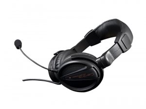 Słuchawki z mikrofonem Modecom MC-828 STRIKER Gaming czarne