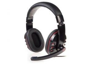 Słuchawki z mikrofonem Genesis H11 Gaming czarne
