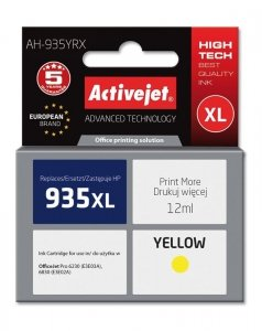 HP 935XL YELLOW 12ml ACTIVEJET (zamiennik HP C2P26AE )
