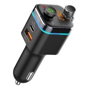 Transmiter adapter samochodowy MP3 z Bluetooth i funkcją ładowania TR-12
