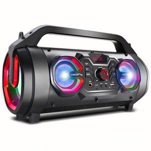 Głośnik przenośny bazooka Audiocore AC875 bluetooth 5.0, radio FM, karta micro, SDIPX4, 2000mAh