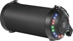 Głośnik Defender G28 Bluetooth 12W MP3/FM/SD/USB/AUX/TWS/LED/RGB czarny