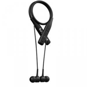 Słuchawki z mikrofonem Garett Sound Fit bezprzewodowe czarne
