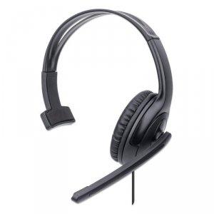 Słuchawki z mikrofonem Manhattan Mono USB