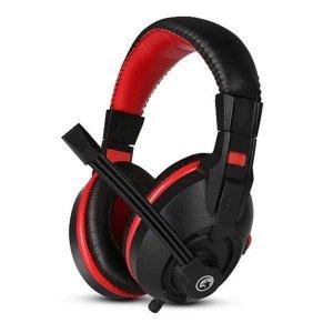 Słuchawki z mikrofonem Marvo H8321P dla gracza, regulacja głośności