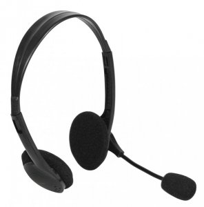 Słuchawki z mikrofonem Vakoss SK-201H