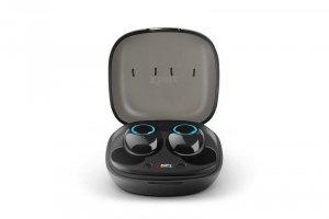 Słuchawki z mikrofonem Xblitz Uni Pro 2 bezprzewodowe BT czarne