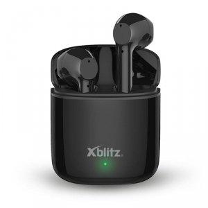 Słuchawki z mikrofonem Xblitz Snake Mojo bezprzewodowe czarne
