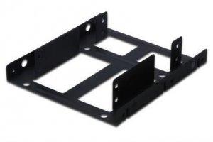 Ramka montażowa DIGITUS SSD/HDD 2x 2.5 do 3.5 (ATA/SATA) czarna