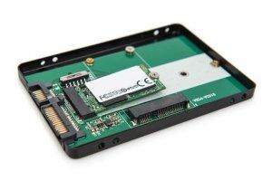 Adapter DIGITUS na dysk SATA/HDD 2,5 M.2/mSATA SATA 3,6 Gbit/s aluminiowa