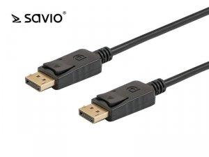 Kabel DisplayPort - DisplayPort Savio CL-86 3m