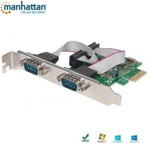 Kontroler COM Manhattan PCIe 2x RS-232/COM ICC