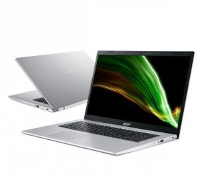 Notebook Acer Aspire 3 17,3HD+ /i3-1115G4/4GB/SSD256GB/UHD/W10 Silver