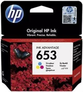 Tusz HP 653 Color (3YM74AE)
