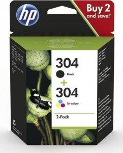Zestaw Tuszy HP 304 CMYK (3JB05AE)