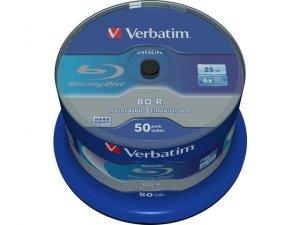 BD-R Verbatim 25GB X6 Datalife (Cake 50)