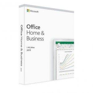 Oprogramowanie Office Home & Business 2019 English P6 Win/Mac. Produkt posiada możliwość zmiany wersji językowej na polską