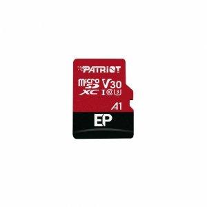 Karta pamięci Patriot EP Series MicroSDXC 64GB Class V30 + Adapter