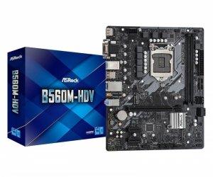 Płyta ASRock B560M-HDV /B560/DDR4/SATA3/M.2/USB3.0/PCIe4.0/s.1200/mATX
