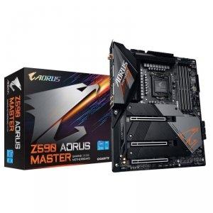 Płyta Gigabyte Z590 AORUS MASTER (rev. 1.0) /Z590/DDR4/SATA3/M.2/USB3.1/PCIe3.0/s.1200/WIFI/BT/ATX