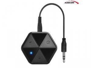 Adapter Bluetooth Audiocore AC815 odbiornik z klipsem HSP, HFP, A2DP, AVRCP