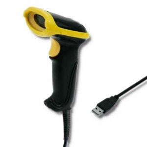Czytnik kodów kreskowych Qoltec   1D   USB