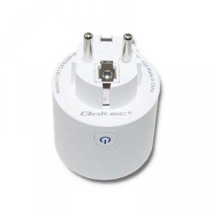 Gniazdo inteligentne Wi-Fi Smart Qoltec   białe