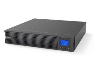 Zasilacz awaryjny UPS Power Walker On-Line 1000VA, ICR IoT PF1 USB/RS232, 8x IEC Out, LCD, Rack