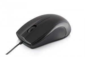 Mysz przewodowa LOGIC LM-12 optyczna czarna
